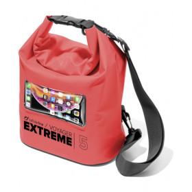 Cellularline VOYAGER EXTREME - 5L Borsa impermeabile Rosso