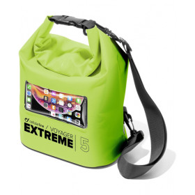 Cellularline VOYAGER EXTREME - 5L Borsa impermeabile Lime