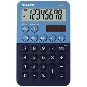 Sharp EL-760R calcolatrice Scrivania Calcolatrice finanziaria Blu