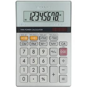Sharp EL-330ER calcolatrice Tasca Calcolatrice finanziaria Grigio