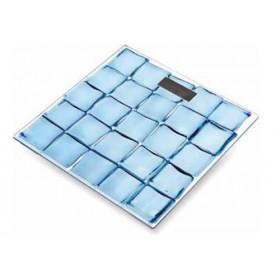 Master PP960 Ice Cube Bilancia pesapersone elettronica Quadrato Blu