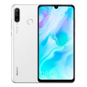 """Huawei P30 lite 15,6 cm (6.15"""") 4 GB 128 GB Dual SIM ibrida 4G Bianco 3340 mAh"""