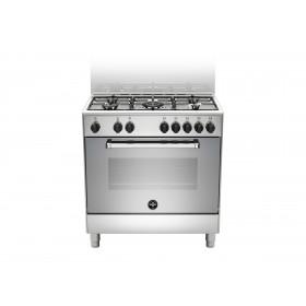 Bertazzoni La Germania Americana AMN855EXV cucina Piano cottura Acciaio inossidabile Gas A