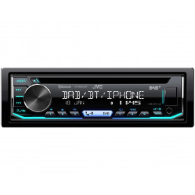 JVC KD-DB902BT Nero 300 W Bluetooth