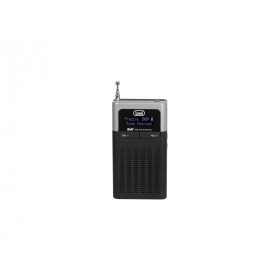 Trevi DAB 793 R radio Portatile Digitale Nero, Grigio