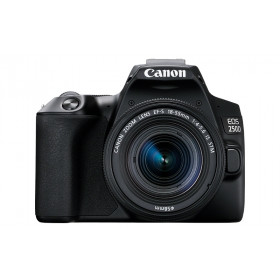 Canon EOS 250D + EF-S 18-55mm f/4-5.6 IS STM Kit fotocamere SLR 24,1 MP CMOS 6000 x 4000 Pixel Nero