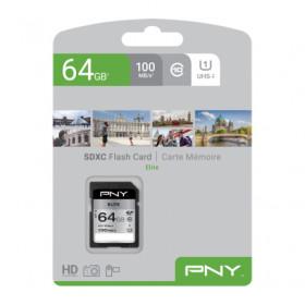 PNY Elite memoria flash 64 GB SDXC Classe 10 UHS-I