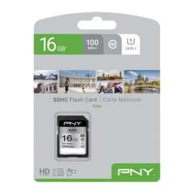 PNY Elite memoria flash 16 GB SDHC Classe 10 UHS-I