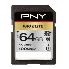 PNY PRO Elite memoria flash 64 GB SDXC Classe 10 UHS-I