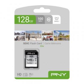 PNY Elite memoria flash 128 GB SDXC Classe 10 UHS-I