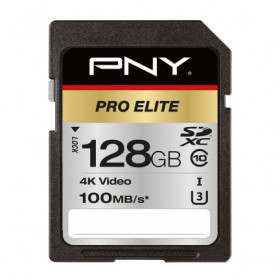 PNY PRO Elite memoria flash 128 GB SDXC Classe 10 UHS-I