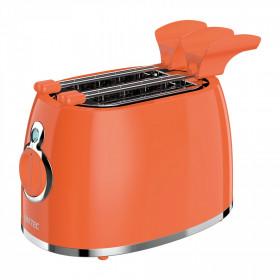 Imetec 7453 tostapane 2 fetta/e Cromo, Arancione 500 W