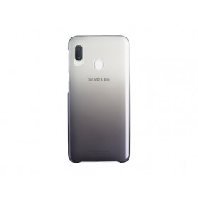 GRADATION COVER BLACK GALAXY A20E
