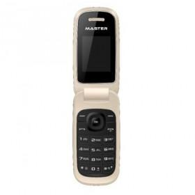 """Master MF016 4,57 cm (1.8"""") Oro, Bianco Telefono di livello base"""