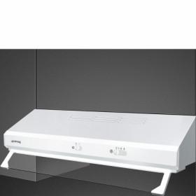 Smeg KSEC61BE2 cappa aspirante 285 m³/h Built-under cooker hood White D