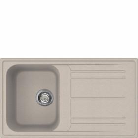 Smeg LZ861AV2 lavello Lavello montato su piano Rettangolare Granito