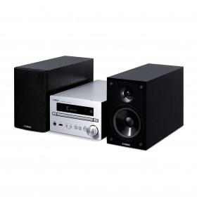 Yamaha MCR-B270D Microsistema audio per la casa Nero, Argento 30 W