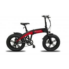 """Maserati MA-FAT20FR bicicletta elettrica Rosso Alluminio 50,8 cm (20"""") Litio 24 kg"""