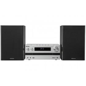 Kenwood M-918DAB Microsistema audio per la casa Alluminio, Nero 100 W