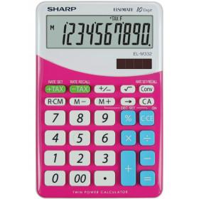 Sharp EL-M332 calcolatrice Scrivania Calcolatrice finanziaria Rosa