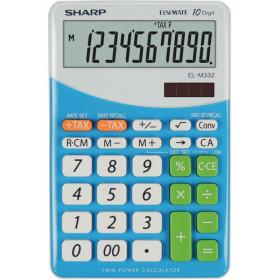 Sharp EL M332 BBL - BLU calcolatrice Scrivania Calcolatrice finanziaria