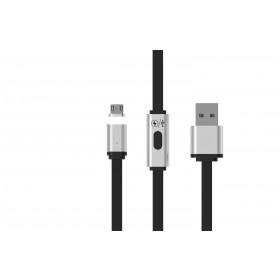 Redline RDL6140 cavo USB 1 m 2.0 USB A Micro-USB A Nero, Argento
