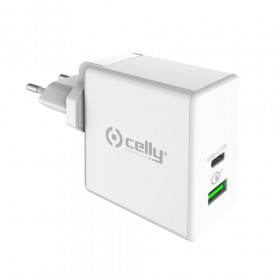 Celly TCUSBC45WWH Caricabatterie per dispositivi mobili Interno Bianco