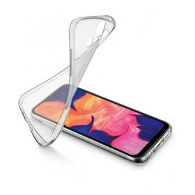 Cellularline Soft - Galaxy A20e Protegge e valorizza il design dello smartphone Trasparente