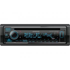 Kenwood KDC-BT730DAB Ricevitore multimediale per auto Nero 88 W Bluetooth