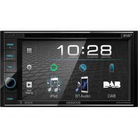 Kenwood DDX4019D-E3 Ricevitore multimediale per auto Nero 88 W Bluetooth
