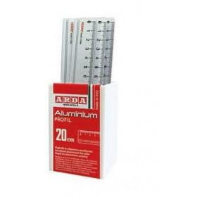 ARDA 17920BAR set di righelli 15 pezzo(i) Alluminio