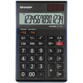 Sharp EL-144T calcolatrice Scrivania Calcolatrice finanziaria Nero