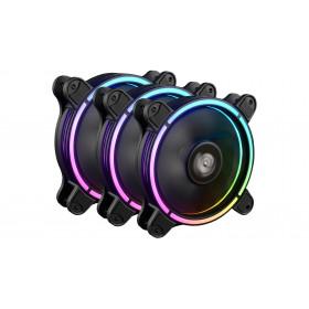 Enermax T.B.RGB AD. Kit 3 Ventole ARGB PWM 120 Con controller