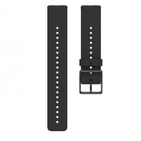 Polar 91075845 accessorio per smartwatch Band Nero Silicone
