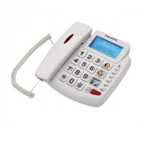 New Majestic PHF-BILLY-200 Telefono analogico Bianco Identificatore di chiamata