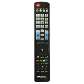 Digiquest TLC102 telecomando IR Wireless TV Pulsanti