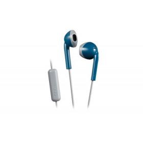JVC HA-F19M-AH auricolare per telefono cellulare Stereofonico Blu, Grigio