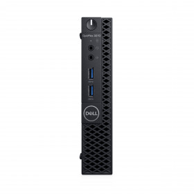 DELL OptiPlex 3070 Intel® Core™ i3 di nona generazione i3-9100T 8 GB DDR4-SDRAM 256 GB SSD Nero MFF Mini PC