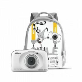 "Nikon COOLPIX W150 Kit Fotocamera compatta 13,2 MP CMOS 4160 x 3120 Pixel 1/3.1"" Bianco"