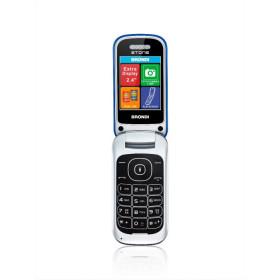 """Brondi Stone 6,1 cm (2.4"""") 86 g Blu Telefono cellulare basico"""