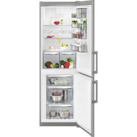 AEG RCB53424TX frigorifero con congelatore Libera installazione Acciaio inossidabile 311 L A++