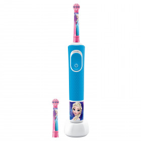 Oral-B 80324393 spazzolino elettrico Bambino Blu, Rosa