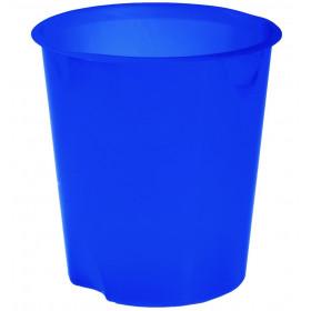 Fellowes E020TB cestino per rifiuti Rotondo Blu Polipropilene (PP)