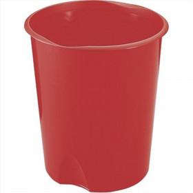 Fellowes E020RO cestino per rifiuti Rotondo Rosso Polipropilene (PP)