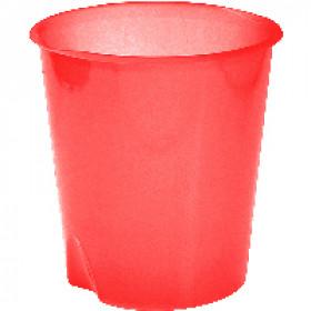 Fellowes E020TR cestino per rifiuti Rotondo Rosso Polipropilene (PP)