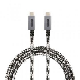 Sitecom CA-001 cavo USB 1 m 3.1 (3.1 Gen 2) USB C Nero, Bianco