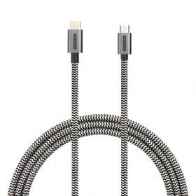 Sitecom CA-035 cavo USB 2 m 2.0 USB C Micro-USB B Nero, Bianco