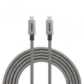 Sitecom CA-002 cavo USB 2 m 3.0 (3.1 Gen 1) USB C Nero, Bianco