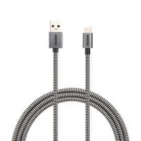 Sitecom CA-003 cavo USB 1 m 3.0 (3.1 Gen 1) USB C USB A Nero, Bianco