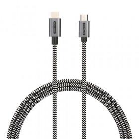 Sitecom CA-034 cavo USB 1 m 2.0 USB C Micro-USB B Nero, Bianco